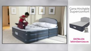 cama hinchable airbed