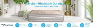 cama hinchable pavillo