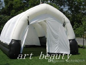 carpa camping hinchable