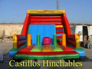 castillo hinchable jerez