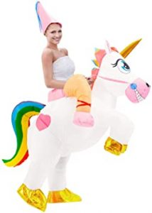 traje unicornio hinchable